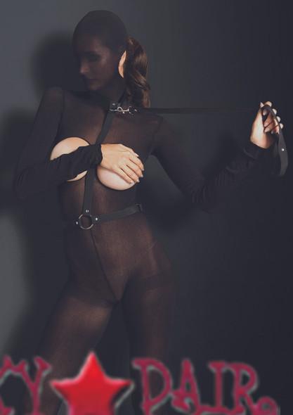 KI2005, Bondage Harness with Leash