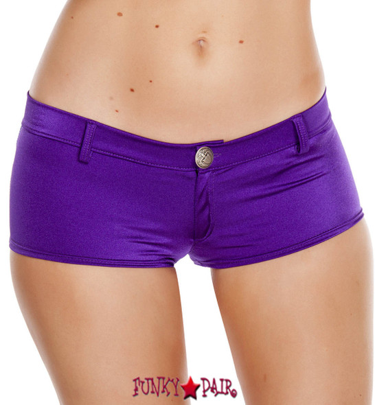 Purple Booty Short with Pockets