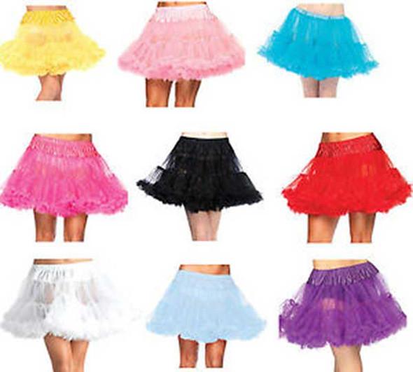 8990, Layered Tulle Petticoat