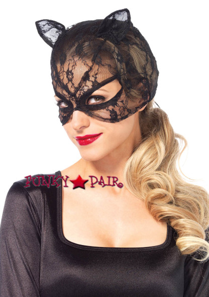 LA3746, Lace Cat Mask
