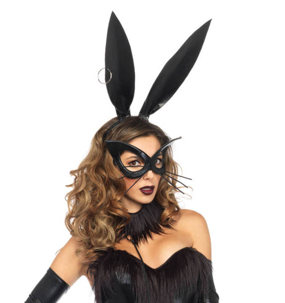 LA A2744, Oversized Bunny Ear Mask