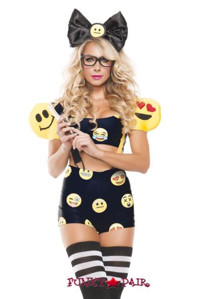Emoji Girl Costume (S5111)
