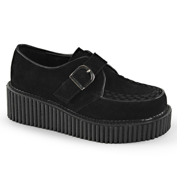 Creeper-118, 2 inch Platform Creeper with D-ring Buckles