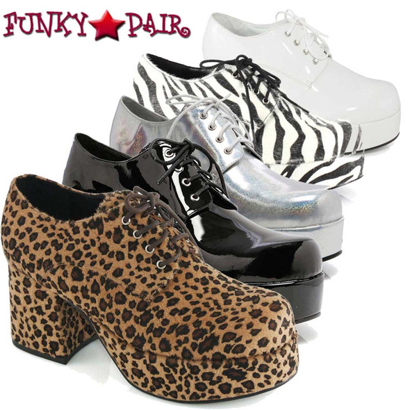 Costume Shoes | Men's 312-PIMP  3 Inch Disco Platform Shoes