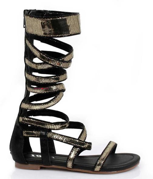Women's Gladiator Cosplay Sandal   1031 Costume Shoes 015-Nile