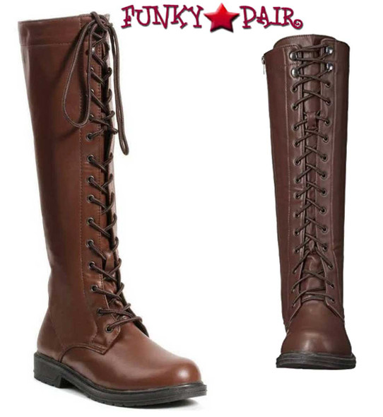 151-Karina, Cosplay Lace up Knee High Costume Boots   1031