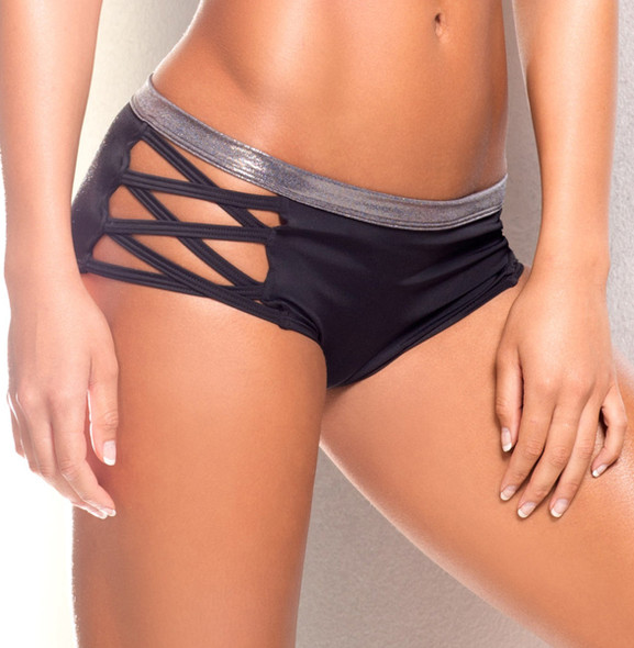 VV032, Short with criss cross side band