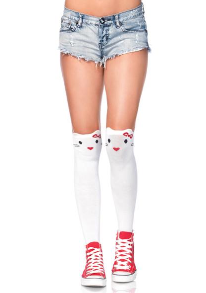 LA6921, Kitty Over the Knee Socks