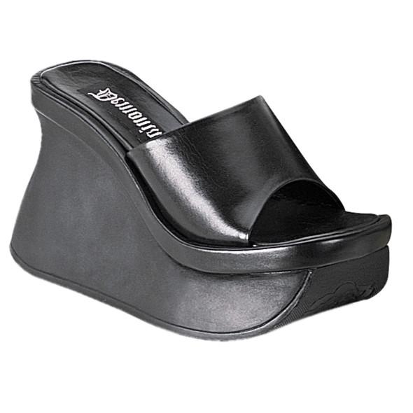 Gothic Platform Wedged Sandals Demonia | Pace-01