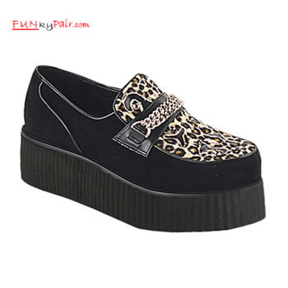 V-CREEPER-509S, mens creeper shoes Made by Demonia