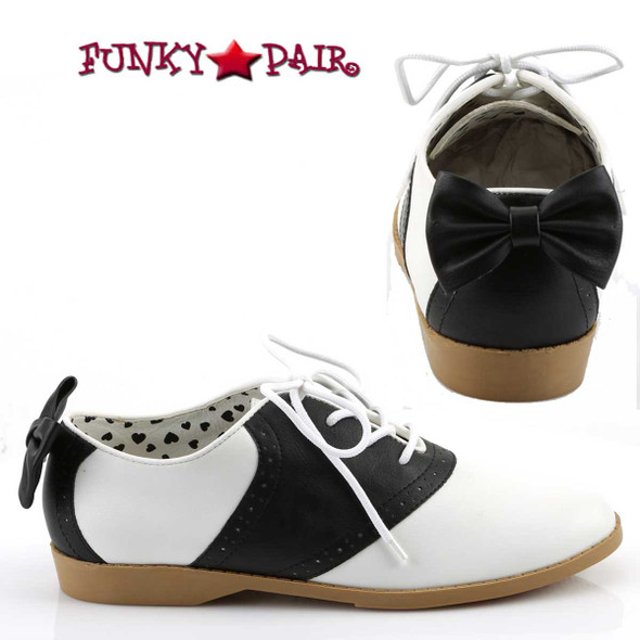 Funtasma | Saddle-53, Saddle Shoes with Bow