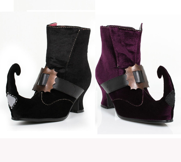 2.5 inch Ankle Boots with a buckle