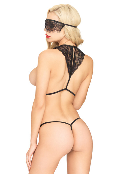LA81522, Body Harness with G-string