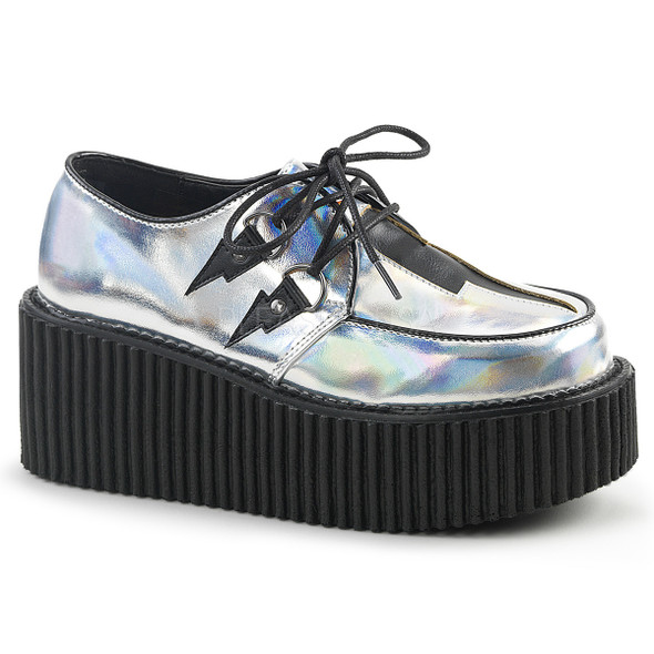 Creeper-218, 3 Inch Creeper with Lighnting Design