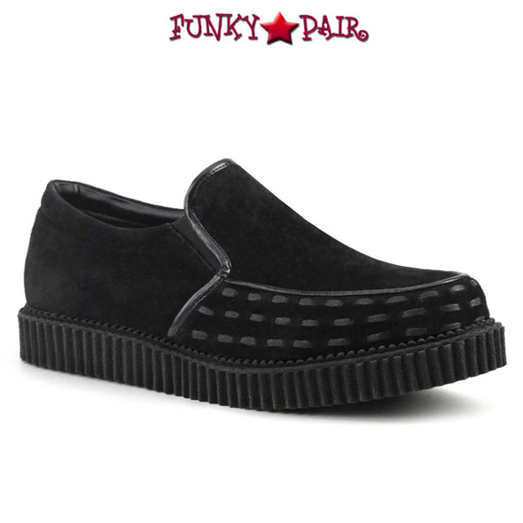 Demonia Clearance $39.95 V-Creeper-607 Men's Loafer