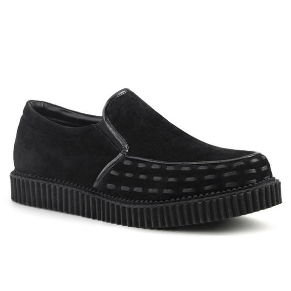 Clearance V-Creeper-607 $39.95 Loafer by Demonia Shoes