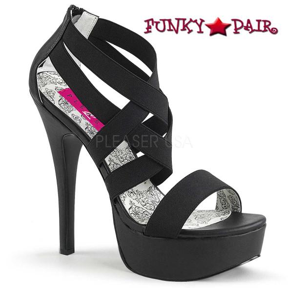Pink Label | Teeze-47W Wide Width Women Platform Plus Size 9-16
