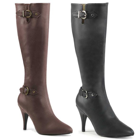 """Plus Size 4"""" Drag Boots Dream-2030"""