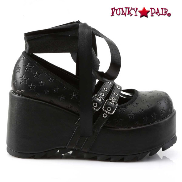 Demonia | Scene-20, Platform Maryjane Shoe side view