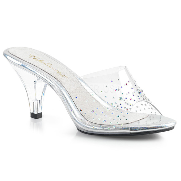 Belle-301SD, 3 Inch Mule with Rhinestones