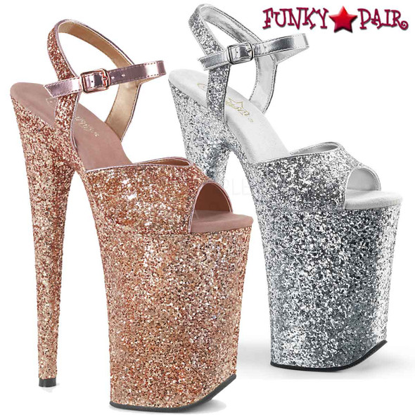 Pleaser   Infinity-910LG, 9 Inch Exotic Dancer Shoes    FunkyPair.com