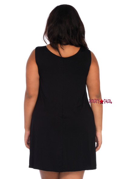 86705X, Jersey Pumpkin Dress