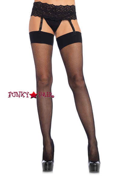 LA9106X, Spandex Fishnet Stockings