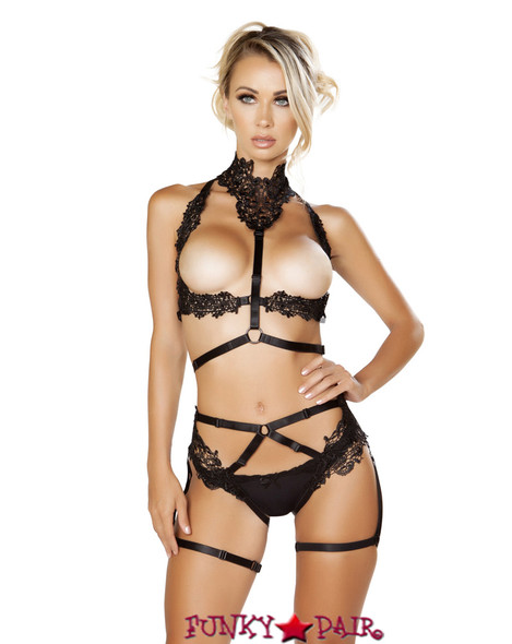 R-LI223, Harness with Cage Chaps