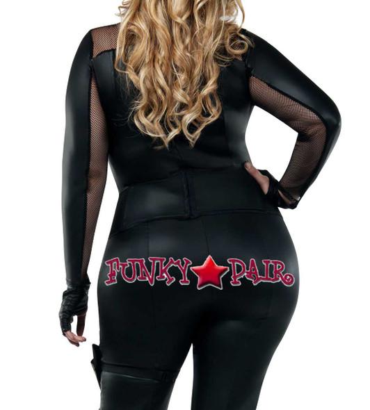 Starline Costume | S8026X, Plus Size Secret Agent Back View