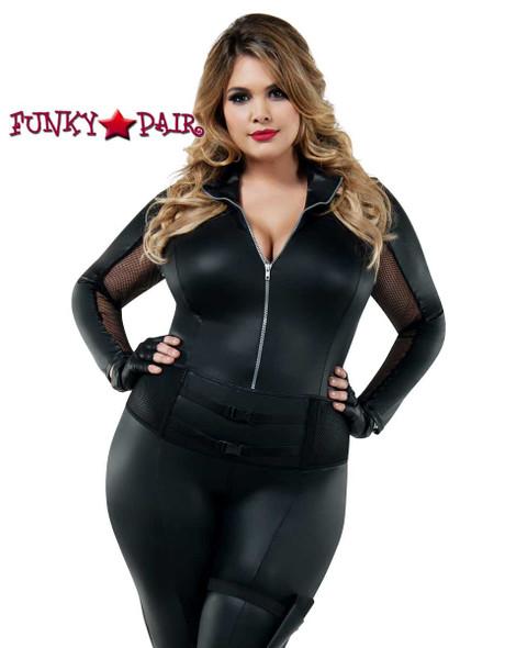 Starline Costume | S8026X, Plus Size Secret Agent Front View