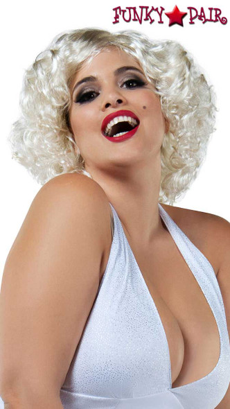 Starline Costume | W8027, Blonde Short Wig
