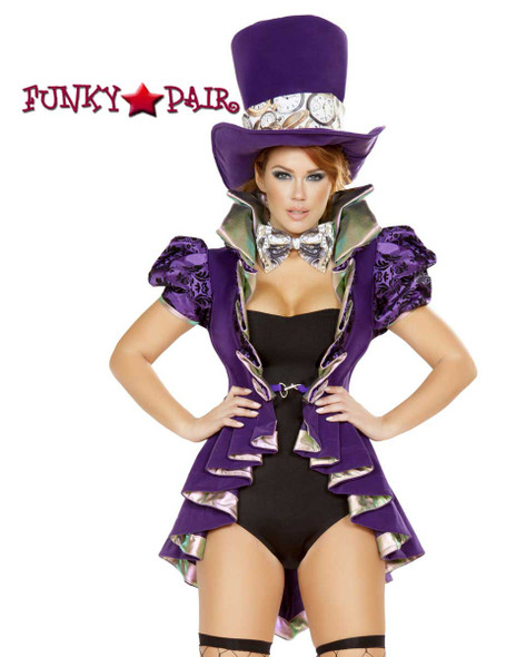 Mad Hatter Romper Costume Roma | R-4729