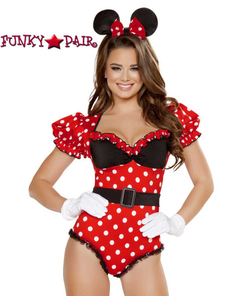 Mousey Delight Romper Costume Roma R-4715