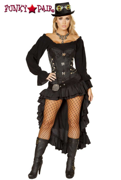 Roma Costume | R-4856, Victorian SteamPunk Maiden full view