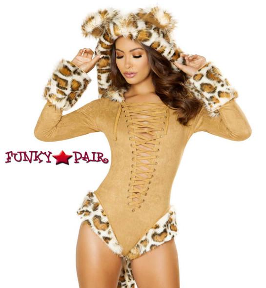 Leopard Romper Costume Roma R-4874,