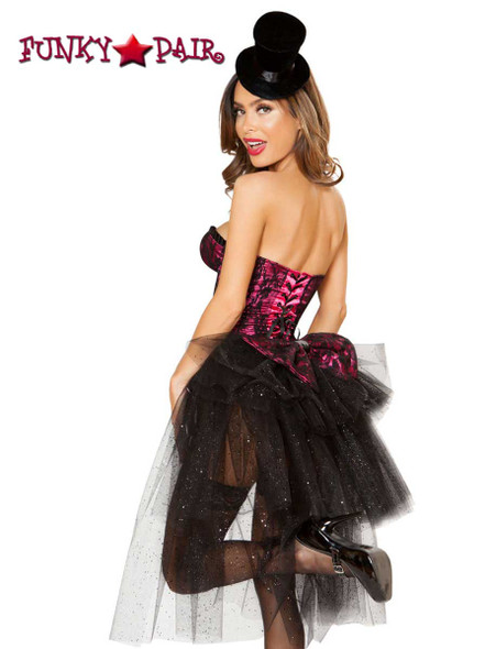 Burlesque Girl Roma Costume | R-4826 back view