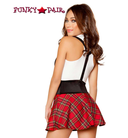 Roma Costume | R-10097, Teasing School Girl back view