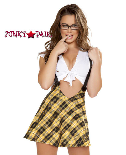 Tempting School Girl Roma Costume | R-4753 close view