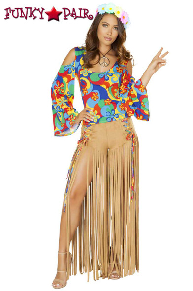 Roma Costume | R-4881, Hippie Princess full front view