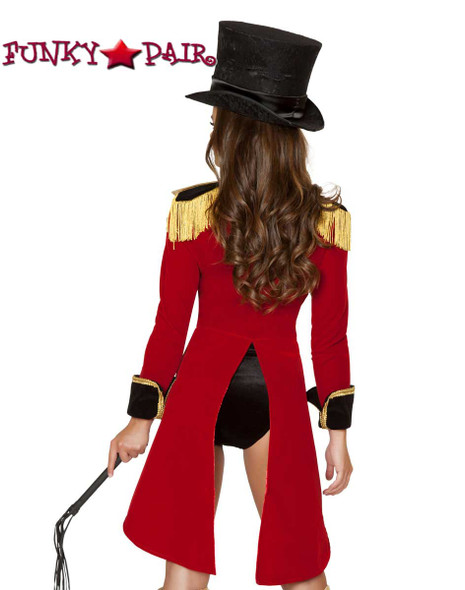 Roma Costume | R-4517, Naughty Ringleader back view