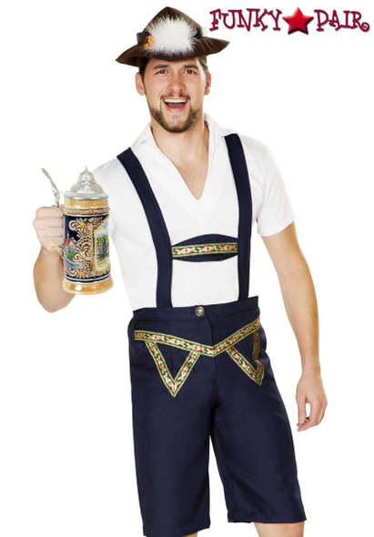 Roma Costume | R-4885, Oktoberfest Beer Bud close up view