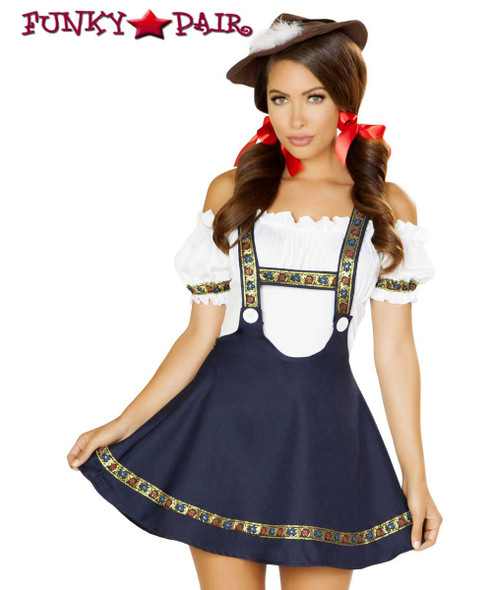 Roma Costume | R-4884, Oktoberfest Bavarian Beauty Front View