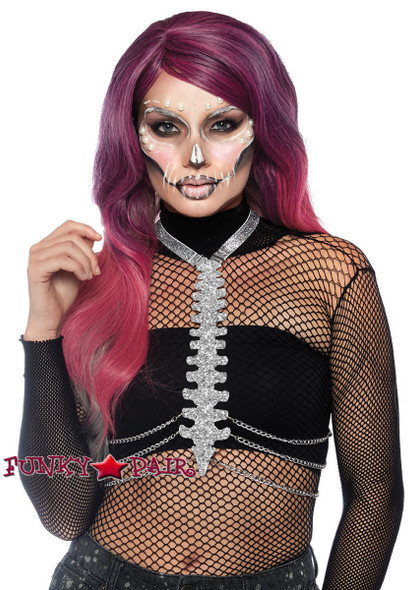 Leg Avenue | LA-2853, Glitter Bone Body Harness
