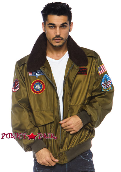 Top Gun Men's Bomber Jacket | Leg Avenue TG86762