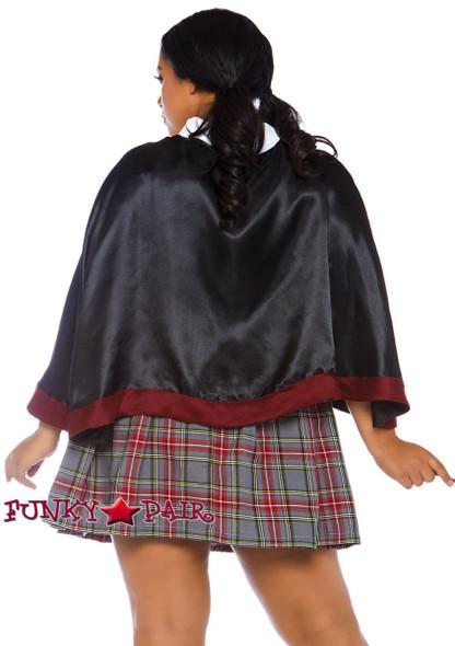 Plus Size Spellbinding School Girl Costume | Leg Avenue LA-86761X back view