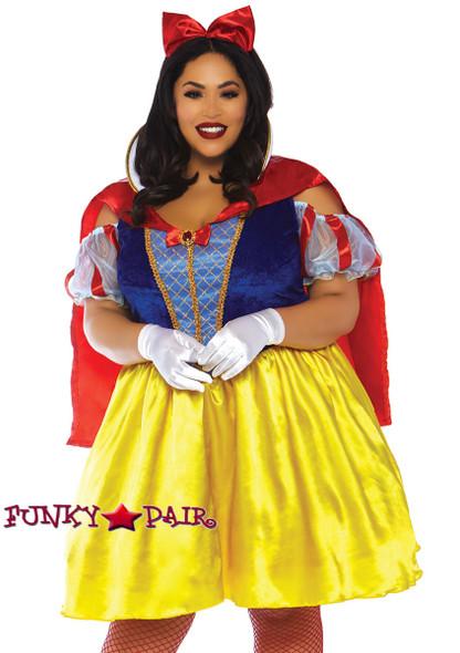 Plus Size Fairytale Snow White | Leg Avenue LA-86765X