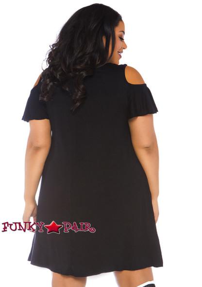 Plus Size Boos Jersey Costume| Leg Avenue LA-86768X