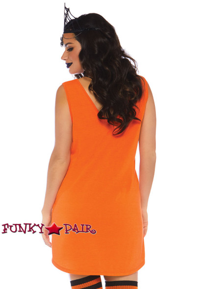 Halloqueen Jersey Dress Costume | Leg Avenue LA-86769 back view