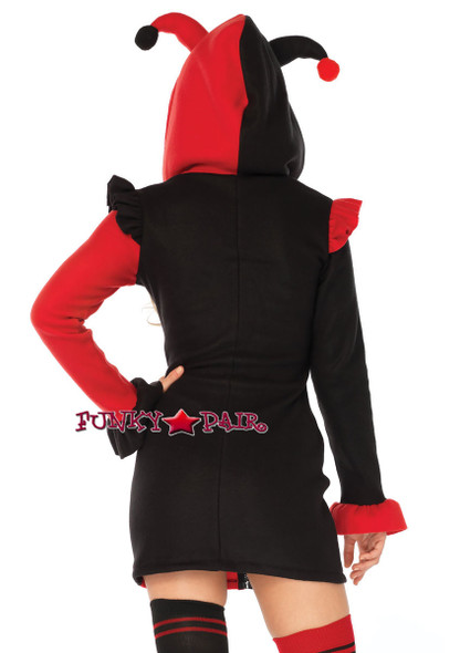Leg Avenue | LA-85638, Cozy Harlequin Costume back view