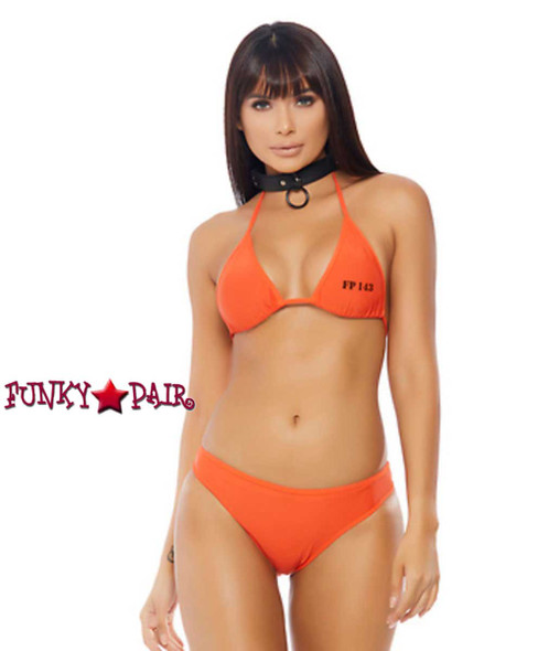 Sexy 2pc. Inmate Costume | ForPlay FP-558704